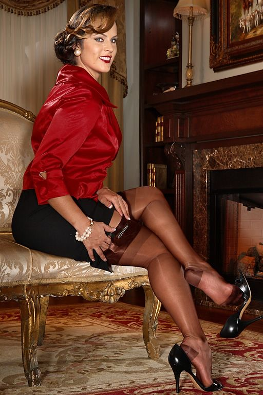 49acb5492 RHT Stockings - Reinforced Heel and Toe Stockings - SIL Classic RHT Vintage  Lingerie