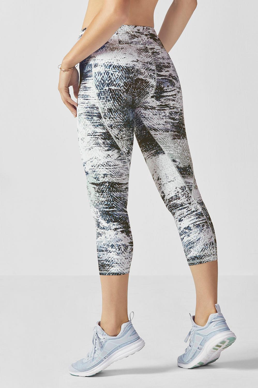 Gia Printed PowerLite Capri Patterned leggings, Running