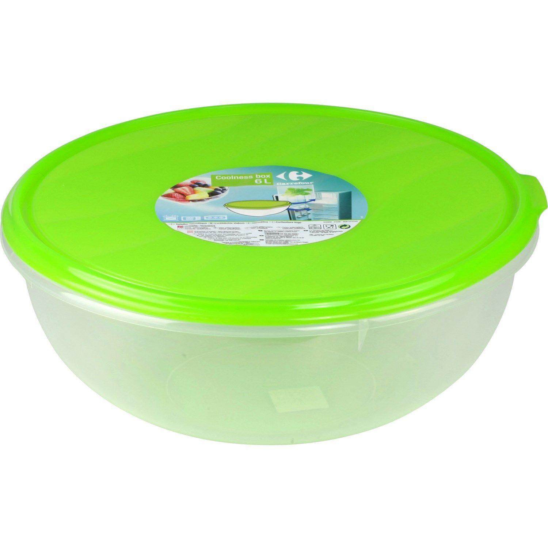 Saladier Coolness Box 6 L Carrefour Le Saladier A Prix