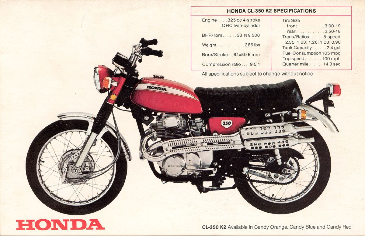 Honda Cl350 My Ride When I Was Going To College In Austin