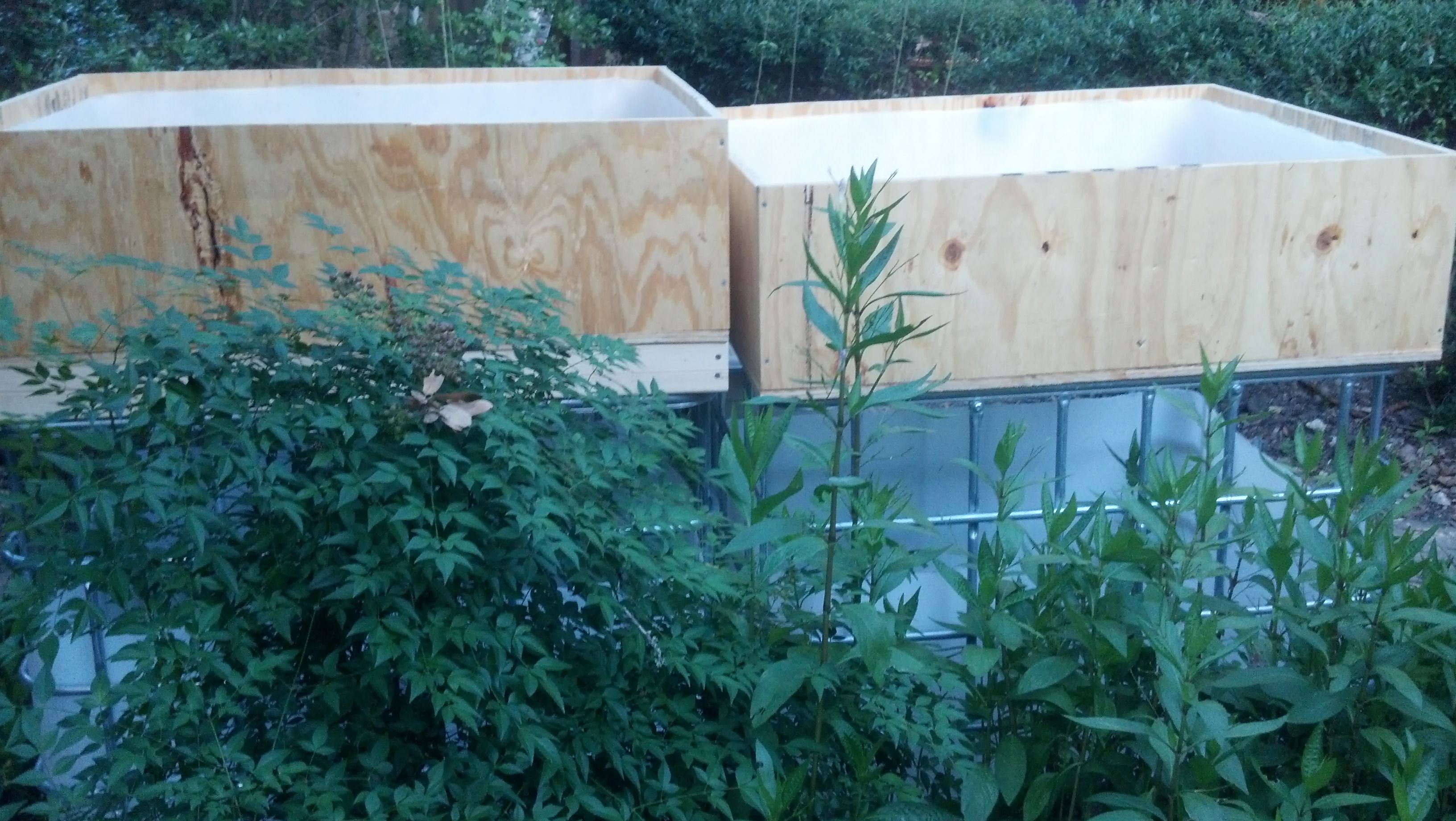 Diy aquaponics wood grow beds | Aquaponics, Garden beds ...