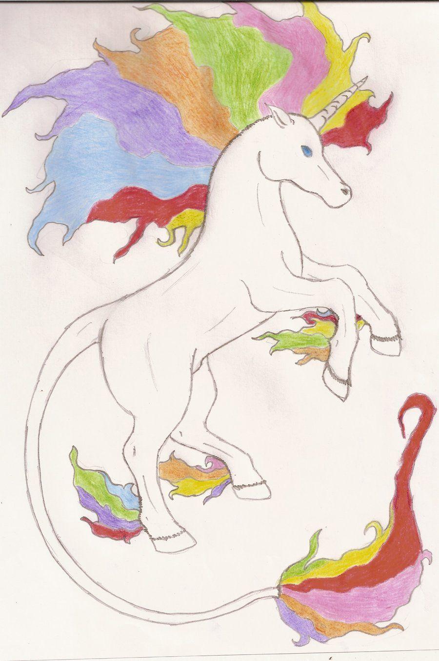 rainbow unicorn | Rainbow unicorn by Imagineator