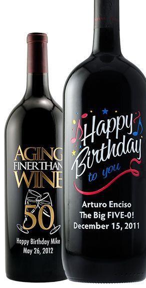 Happy Birthday Wine Happy Birthday Champagne At Etchingx With
