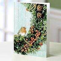 Holiday greeting cards bastin wreath set of 12 unicef bird holiday greeting cards bastin wreath set of 12 unicef bird and wreath holiday greeting cards set of 12 m4hsunfo