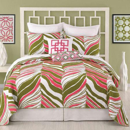 Colorful Bedroom, like the headboard