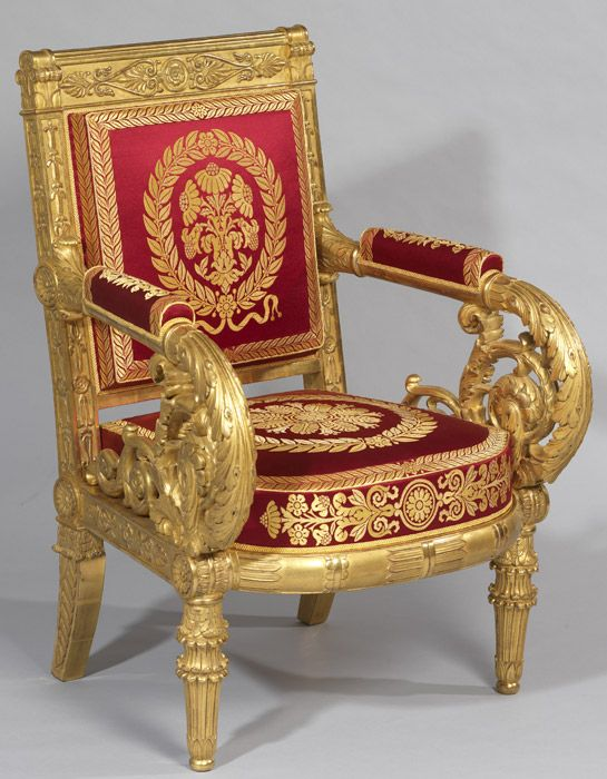 Louis XVIII mobilier - Patrimoine Charles-André COLONNA WALEWSKI ...