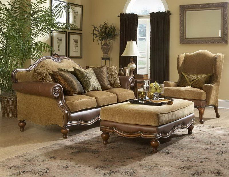 Sofa: Extravagant Classic Sofas Brown Color Soft Seat Design Ideas, A New  Trend, The Living Room