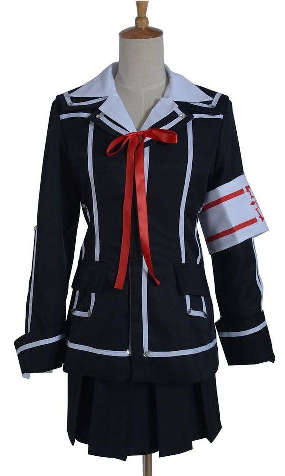 Vampire Knight Yuki Kuran Cross Halloween Cosplay Costume Uniform Dress Outfit