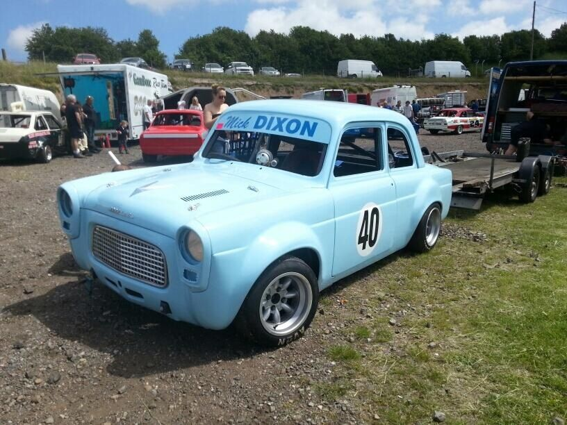 Ford 100e Hot Rod - UK Oval Racing | Pinterest