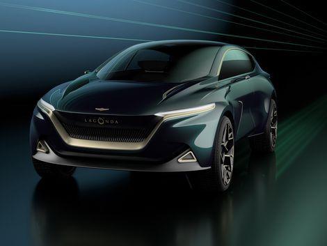 Aston Martin's Lagonda All-Terrain Concept is a hyper-luxe electric SUV - Roadshow
