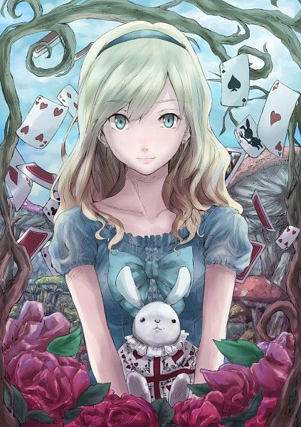 Alice In Wonderland Disney Alice Super Fofa Em Versao De Manga