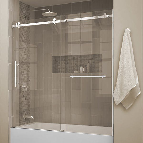 Pin By Susana Antonini On Bathroom Tub Doors Bathtub Doors Shower Sliding Glass Door