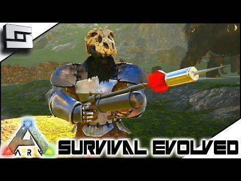 Cool ARK: Survival Evolved   HARPOON GUN?! E14 ( Ark Ragnarok Map )