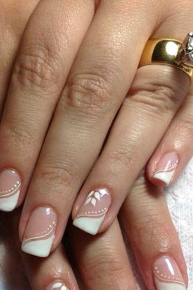 Nails For Wedding Wedding Nails Pinterest Nail Art Nails And