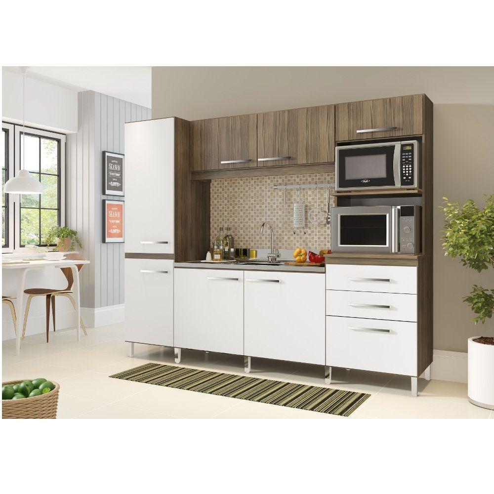 Cozinha Nova Prime Compacta Decibal Cp950 Capuccino Branco Lebes