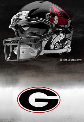 0c997d46656 Georgia Bulldawg Helmet Football Uniforms
