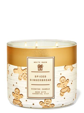 Spiced Gingerbread 3-Wick Candle