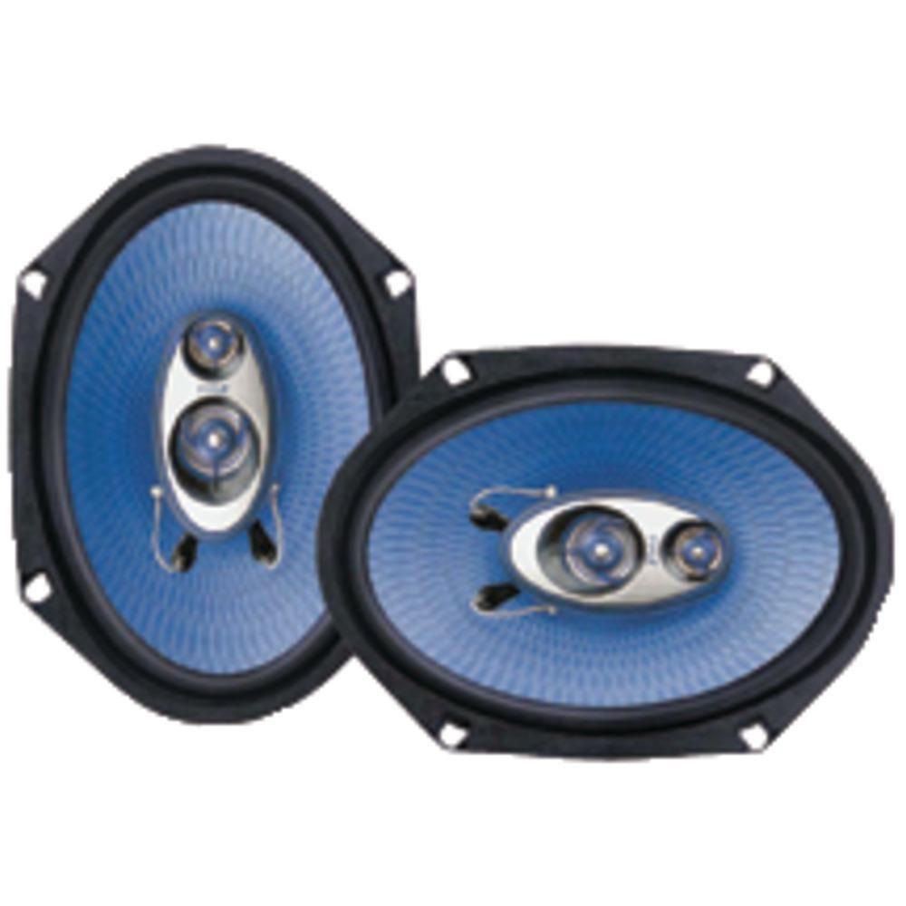 "Pyle Pro Blue Label Speakers (6"" X 8"" 3 Way) Speaker"
