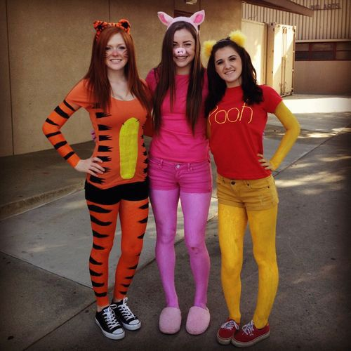 inspiring halloween costume ideas for group of girls 2015 - 3 Girl Costumes Halloween
