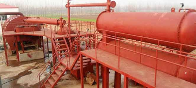 Tyre Recycling Plant / Waste tyre recycling plant / tyre pyrolysis