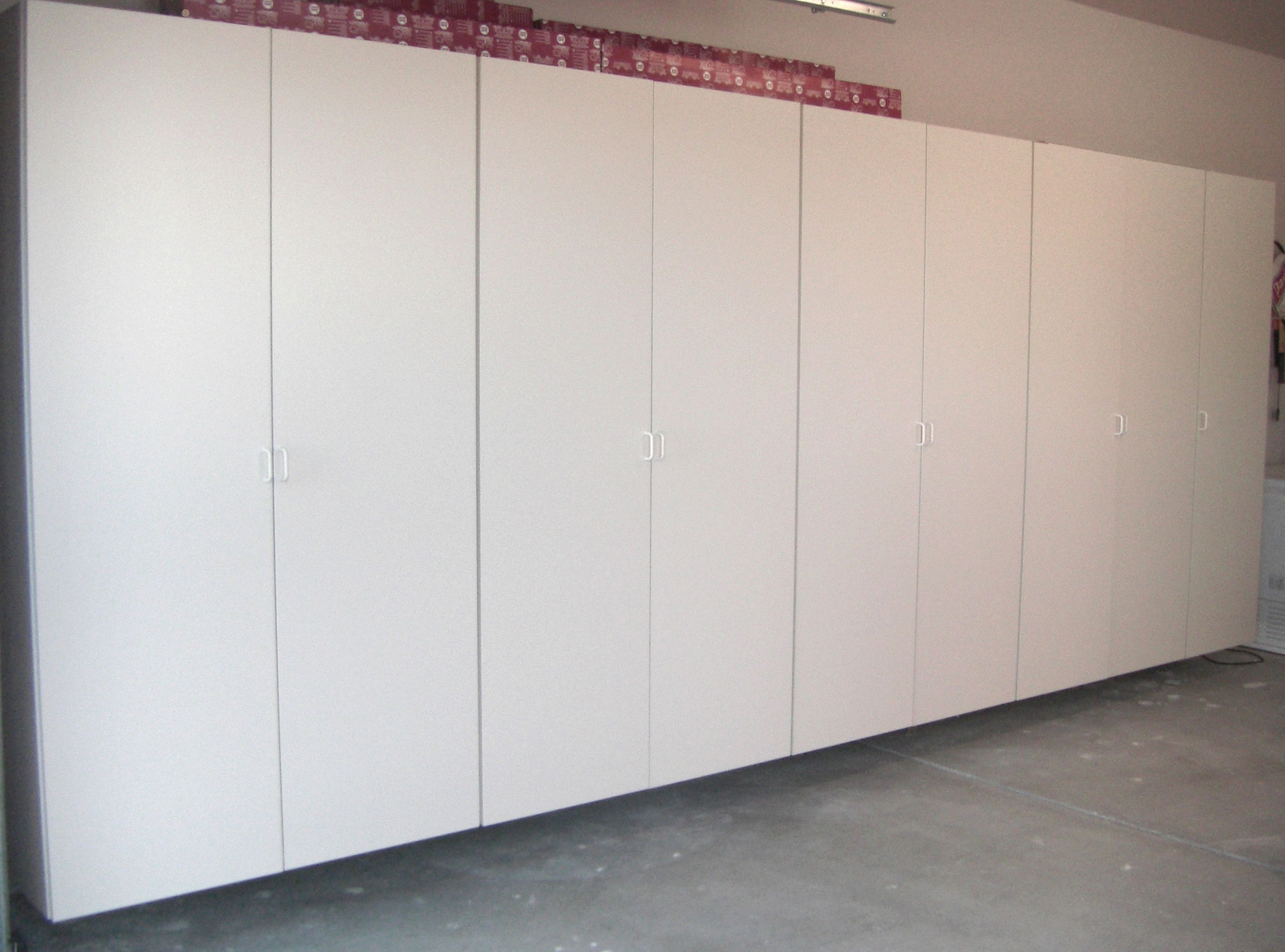 16 Ft White Garage Cabinets Garage Cabinets Closetmaid Garage Storage Cabinets