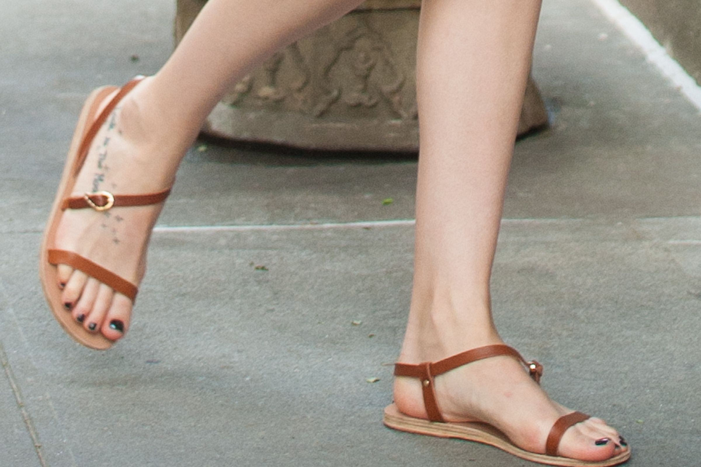 celebrities wearing ancient greek sandals - Google Search ...