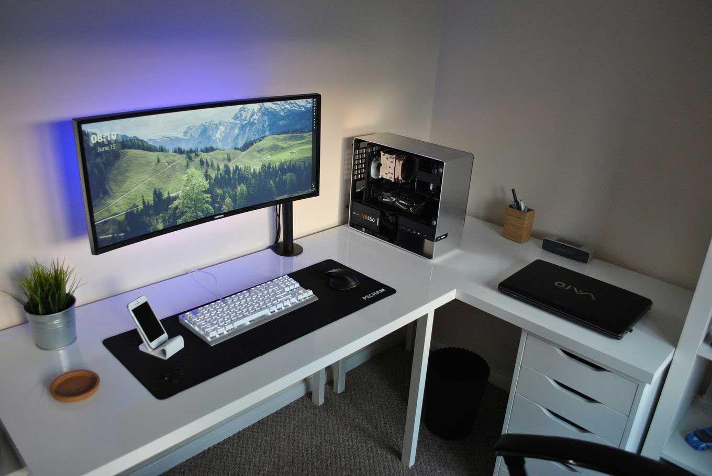 25 Amazing Minimalist Desk Setup Reddit Room Setup Desk Setup Computer Desk Setup