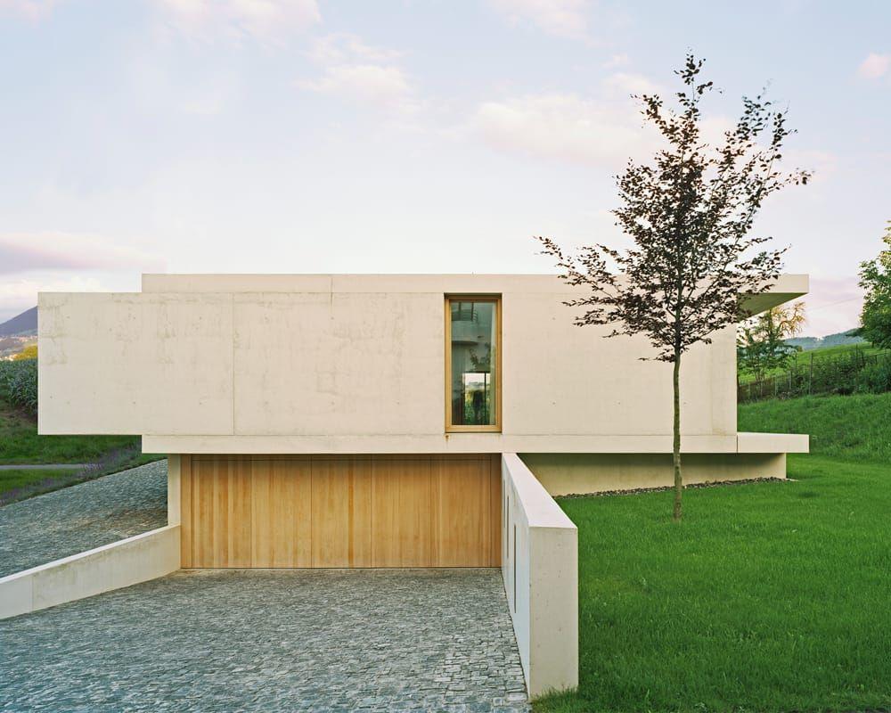 Strassenfassade moderne häuser von rossetti+wyss