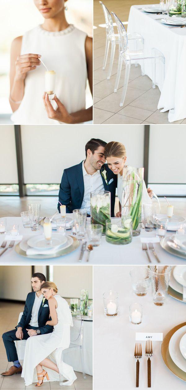 Part I Modern Minimal Wedding Inspiration Pinterest Minimal