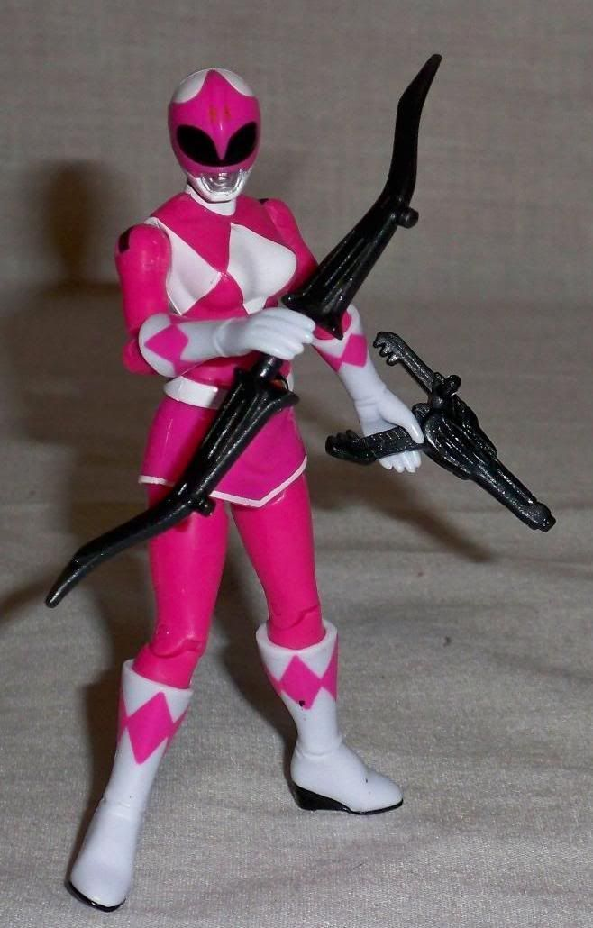 mighty morphin power rangers 2010 toy line pink ranger