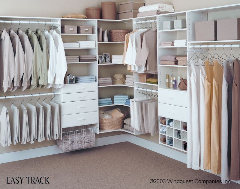 Images Of Walk In Closets diy walk in closets | long hanging – long dresses medium hanging