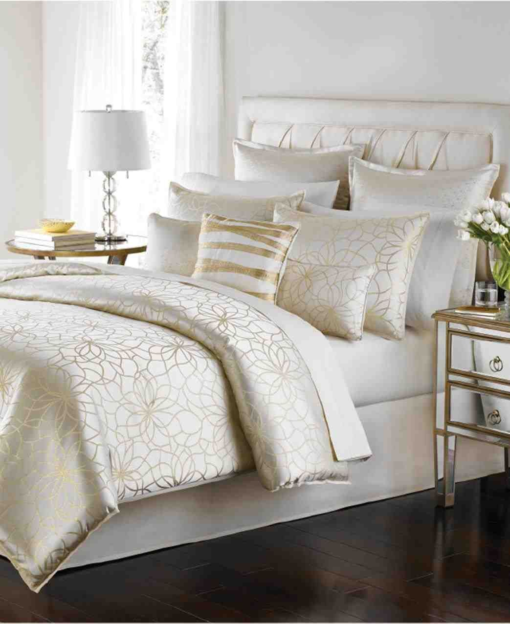This White Boho Bedding