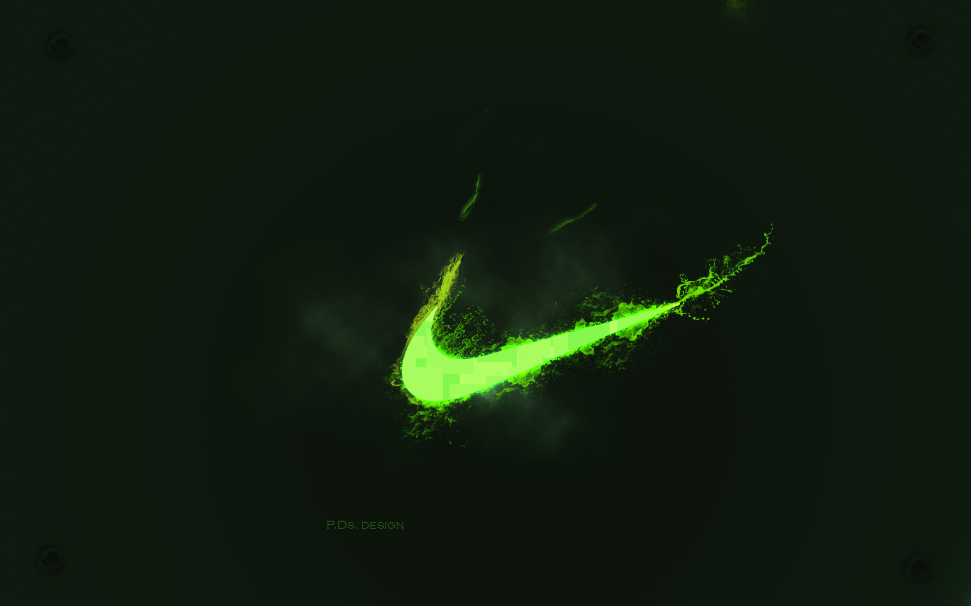 Green Nike Wallpapers Wallpaper Cave