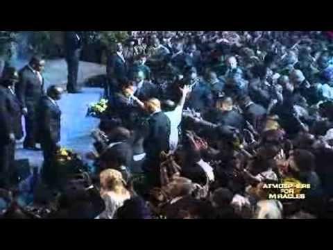 Pastor Chris Preaching People Falling