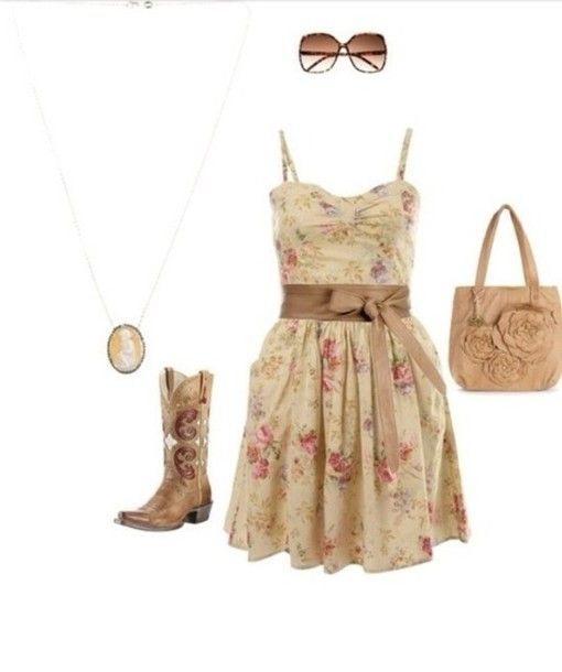 Collection Cute Country Dresses Pictures - Reikian