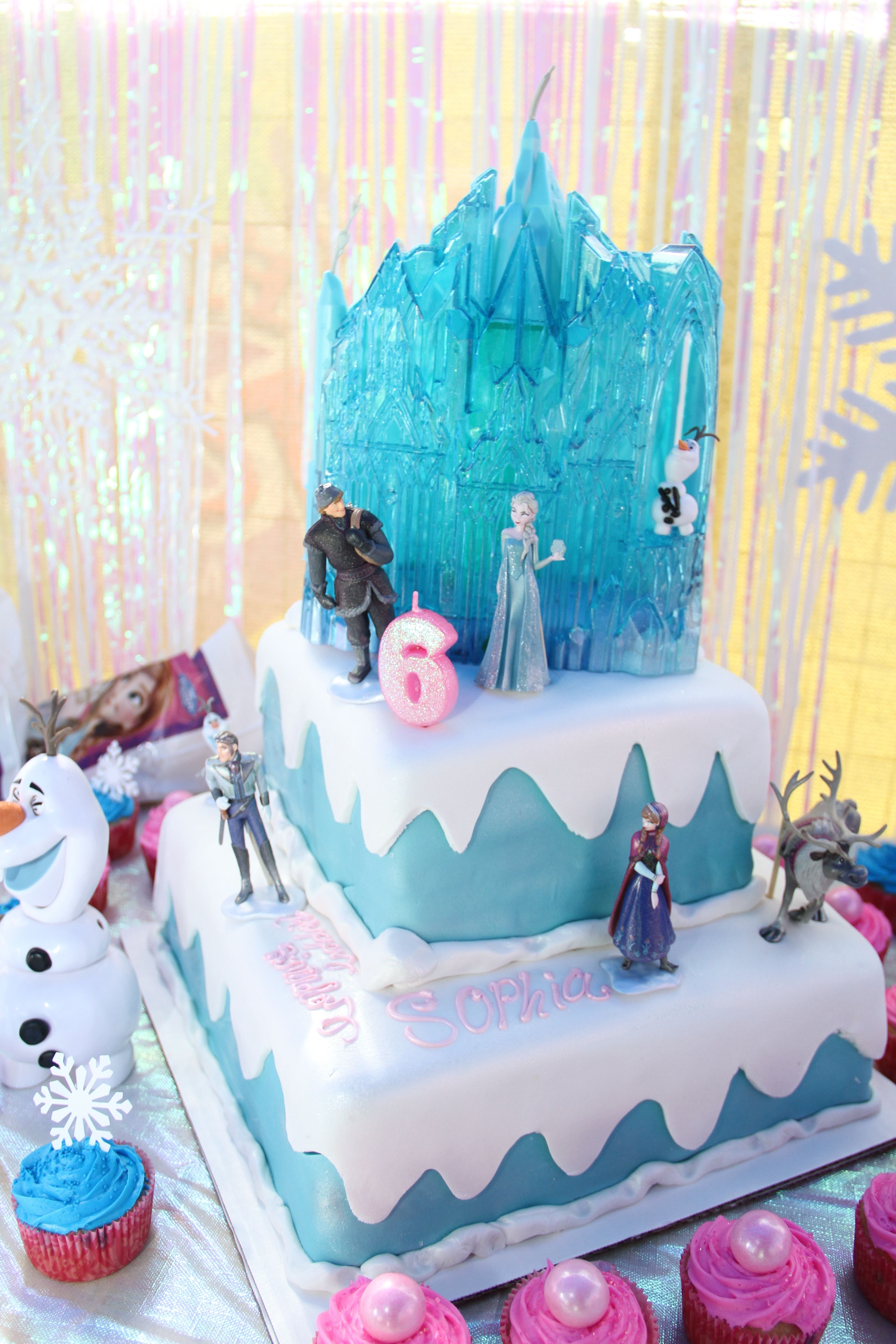 Disney Frozen Birthday Cakes Walmart