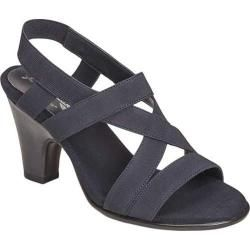 24faa75841 Women's A2 by Aerosoles Scone Dress Sandal Dark Blue Patent | Overstock.com  Shopping - The Best Deals on Heels