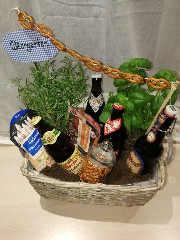 Biergarten Diy Geschenk Fur Manner Zum Geburtstag