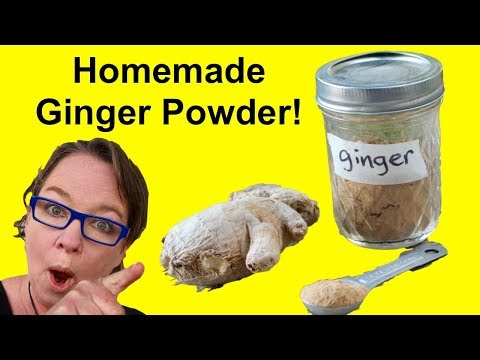 Ginger Powder: How to Make Your Own and What To Do With It ...