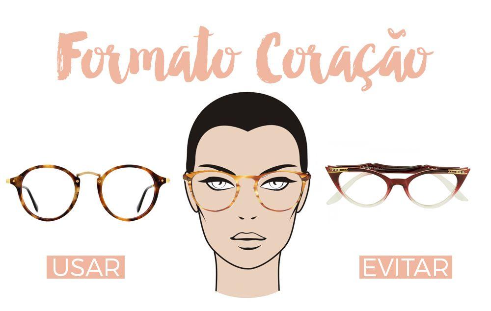 71757c1699766 Como Escolher Óculos de Grau para seu Rosto… Armação De Óculos Feminino