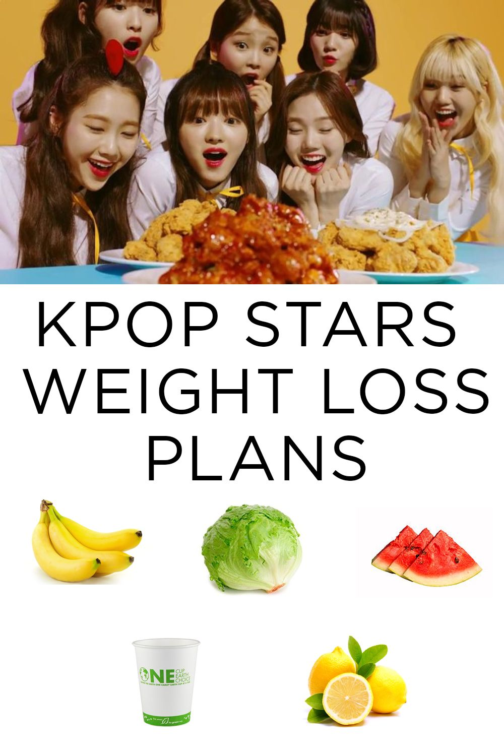 Kpop Idols and their weight loss plans #blog #kpop #diet | A  KPOP
