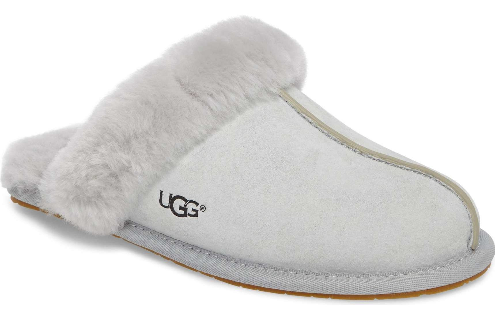 f6d07b8ba2a Christmas Gift for Wife 2017  Grey Ugg Slippers For Her 2018