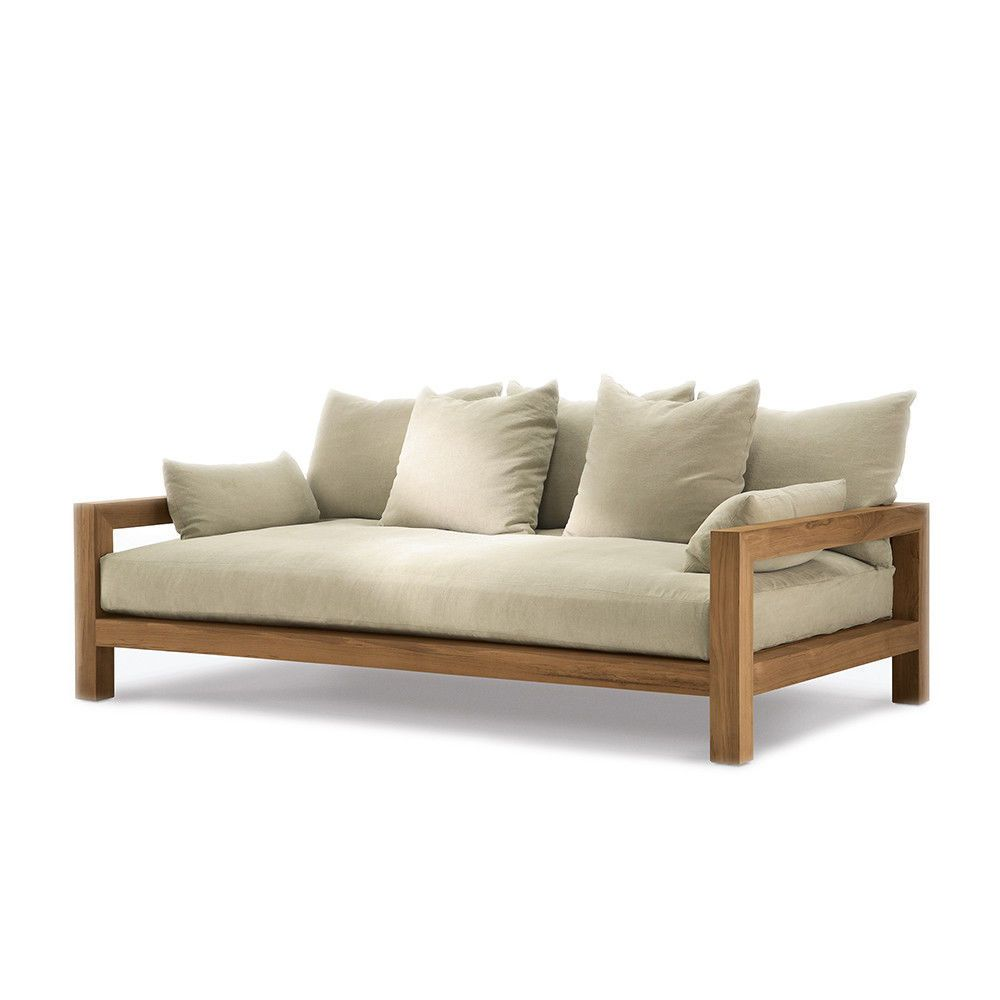 - Daybed Mattress - Chaise Diy Daybed, Wood Sofa, Wood Daybed