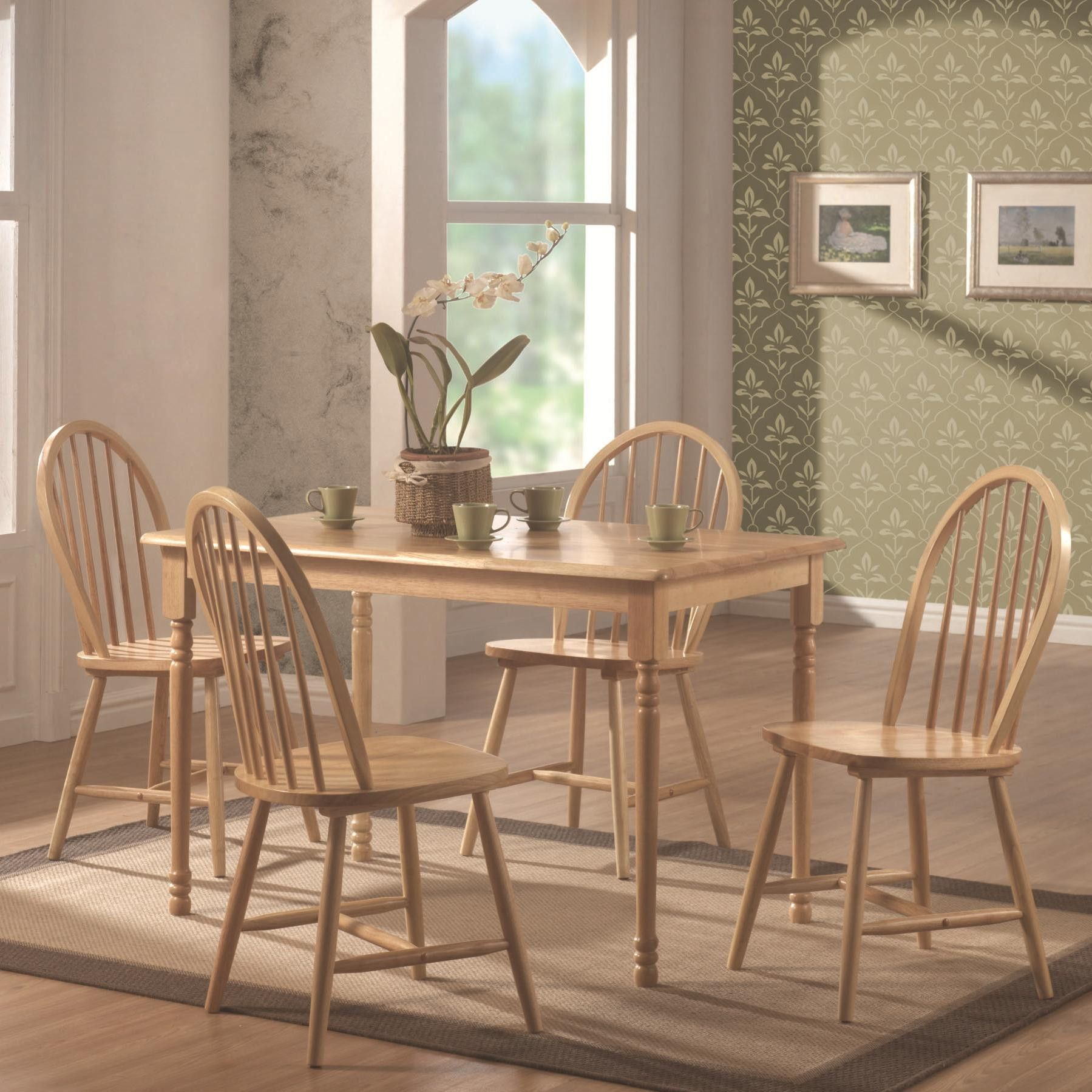 Damen Five Piece Dining Set