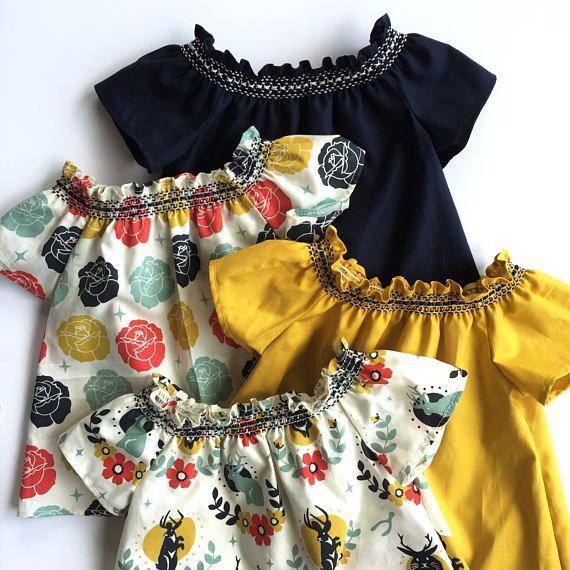 89e7463e310 Bohemian Baby Top    Boho Baby Clothes    Ruffle Sleeve Top Baby ...