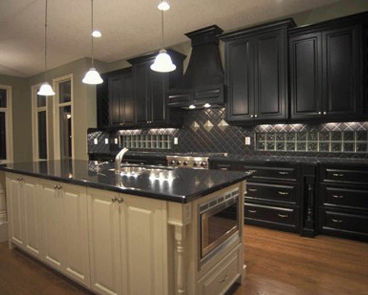 cool kitchen ideas with black cabinets 4747 baytownkitchen decor