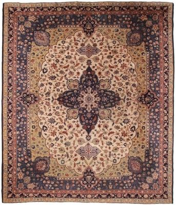 Antique Turkish 12x14 Wool Oriental Rug 1955 Turkish Rug Oriental Wool Rugs Rugs