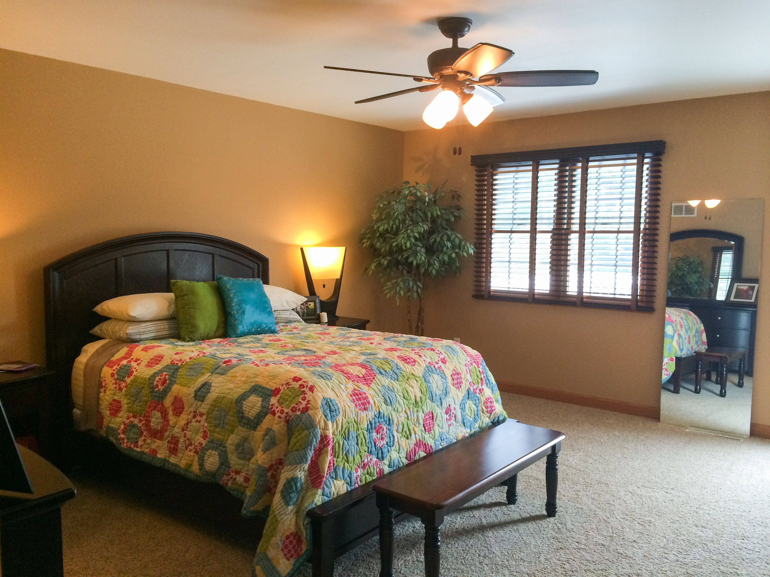 bedroom after behr s peanut butter paint home sweet 18234 | 319316eac8c90e1beb2b078b199aa301