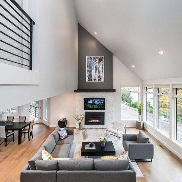 Cozy modern livingroom!! 😍😍