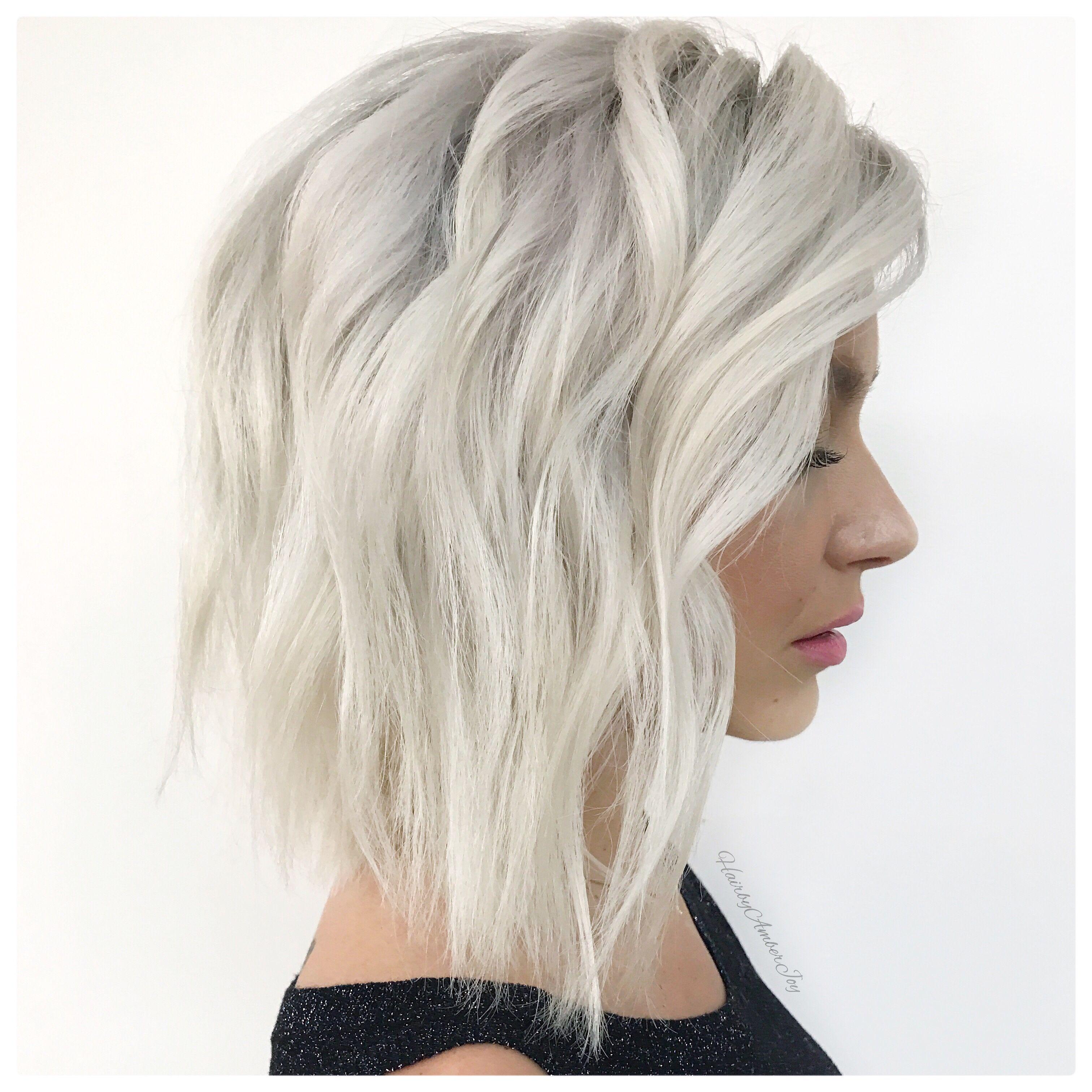 The Prettiest Blonde Bob Lob Julianne Hough Style Short Platinum Blonde Hair Platinum Blonde Hair Blonde Bobs